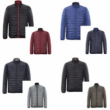 SLIM COATS PARKA QUILTED JACKETS JACKET TOPS DOWN OUTWEAR WINTER MENS