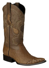 Smooth Ostrich Western Cowboy Boot made by Cuadra Boots