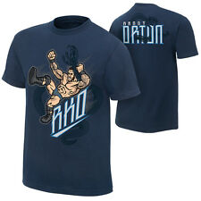 Randy Orton Viper RKO WWE Authentic Mens Navy T-Shirt