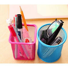 UG Holder Hollow Pen Cosmetic Metal Pot Pencil DK Stationery Container Organizer