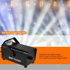 400 Watt Wired Remote Contol Fogger Fog Smoke Machine for Party DJ Stage F7D1