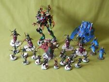 WARHAMMER 40K PAINTED HARLEQUINS/ELDAR ARMY - MANY UNITS TO CHOOSE FROM