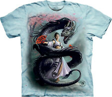 The Mountain Stokes Dragon Dancer Fantasy Cherry Blossom Adult Tee Shirt 105734