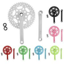7 Colors Fixed Gear Fixie Bike/Cycling Single Speed Track Crankset Crank 44t