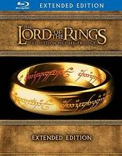 The Lord of the Rings Trilogy LOTR Perfect Extended Edition Blu-Ray FULL Set New