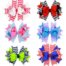 Colorful Baby Infant Girls Hair Accessories Hair Clips Bowknot Hairpin Headdress