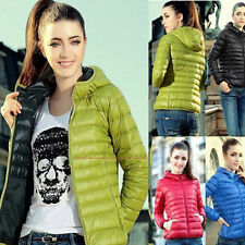 Fashion Women's Casual New Hooded Winter Warm Cotton Parka Jacket Coats Coat