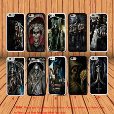 2016 Grim Reaper Skull Skeleton Hard Phone Case Cover for iPhone & Samsung