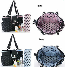 New pretty  baby diaper nappy bag pink/ blue(3661)