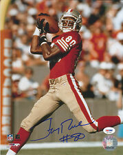 """49ers Jerry Rice """"#80"""" Authentic Signed 11X14 Photo Autographed PSA/DNA ITP 1"""