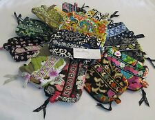 Vera Bradley Small COSMETIC Jewelry Bag MAKEUP Case LIPSTICK for PURSE Tote NWOT