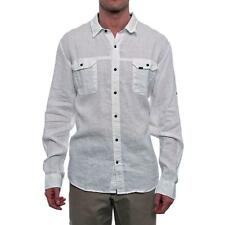 Timberland Earthkeepers Long Sleeve Collared Button Down Men Regular US XL Ivory