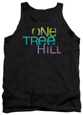 Tank Top: One Tree Hill - Color Blend Logo Apparel Tank Top - Black