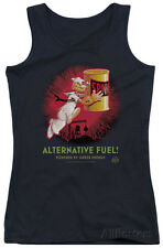 Juniors Tank Top: Popeye - Alternative Fuel Apparel Tank Top - Black