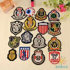 10pcs/set Kinds of Badges Styles Patch Embroidered Cartoon Iron/Sew On Patch