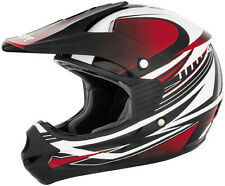 Cyber Youth UX-23 Dyno Red/Black DOT ATV Motocross Offroad Motorcycle Helmet