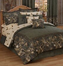 Browning® Whitetails Deer Bedding Comforter Set & Sheets ~ Bed in Bag ~ 5 Sizes