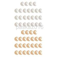 25 Copper Piece Sheet Jewelry Accessories Copper Charm Pendant Findings Moon