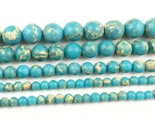 light blue sea sediment jasper beads round loose gemstone beads 4,6,8,10,12mm