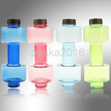 500ml Dumbbell Shaped Sports Travel Water Drink Bottle Gym Exercise Fitness Cup