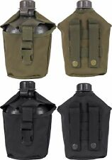Military MOLLE Compatible Genuine GI 1 Quart Canteen & Canteen Cover USA Made