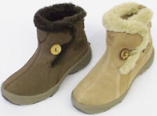 Ladies Hi-Tec Pull On Ankle Boot V-Lite Snowflake Pullon 200i