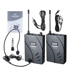 TAKSTAR UHF-938R Wireless Acoustic Transmission System Transmitter+Receiver Q0E9