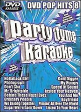 Party Tyme Karaoke - Pop Hits 8 (DVD, 2006) BRAND NEW SEALED