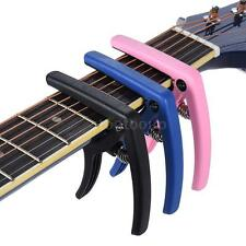 New eno Quick Change Capo Clamp Plastic Steel for Electric Guitar Bass Nice S1Q2