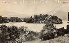 Sligo Lough Gill vintage Old Irish Photo Print - Size Select - Ireland
