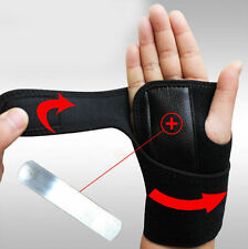 Hand Carpal Tunnel Arthritis Splint Sprains Band Brace Useful Wrist Support