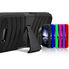 Hybrid Impact Shockproof Protector PC Box Case Kickstand For Apple Smartphone