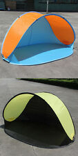 Portab Pop-up Tent Anti-UV Sun Protective Camping Beach Fishing Tent DM
