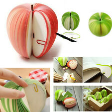 New Sticky Notes DIY Fruit Vegetable Memo Pads Stickers Paper Office Stationery