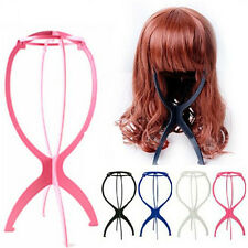 Pop Folding Plastic Stable Durable Wig Hair Hat Cap Holder Stand Display Tool SU