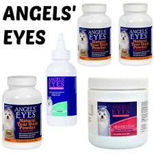 Angels Eyes Natural Dog Tear Stain Remover,Heavenly Coat Soft Chews, Rinse
