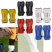 Unisex Children Adult Football Shin Pads Soccer Guards Sports Leg Protector Gear