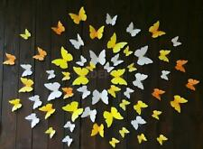 12pcs Artificial 3D Butterfly WALL STICKER DECAL for Home Wedding DIY Decoration