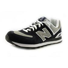 New Balance M574   Round Toe Suede  Sneakers