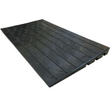 "Rubber Threshold Ramp - 2.5"" Rise - For Doors, Wheelchairs, Scooters"