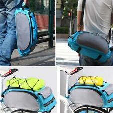 Cycling Bicycle Large Shelf Pack Bike Rear Seat Pannier Bag Travel Luggage Bag
