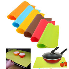 1PC Silicone Pastry Bakeware Baking Tray Oven Rolling Kitchen Bakeware Mat