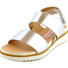 2 Lips Too Too Step Women  Open-Toe Synthetic Silver Slingback Sandal