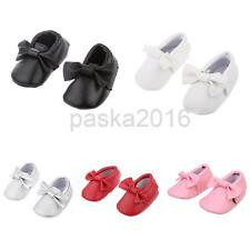 Baby Infant Soft Sole PU Leather Shoes Bowknot Girl Infant Toddler Cribs Sneaker