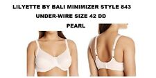 LILYETTE TAILORED JACQUARD MINIMIZER BRA SIZE 42 DD STYLE 0843 NEW WITH TAGS
