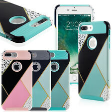 For Apple iPhone 7 6S Plus Shell Cover Case Shockproof Hybrid Rugged Rubber Hard