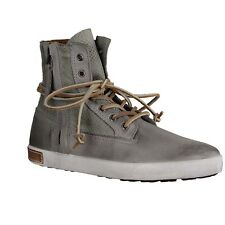 Blackstone IL 59 - Ladies' shoes fashionable Ankle boots, Grey, greased leather
