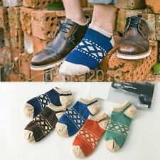1 Pair of Fashion Ankle Socks Low Cut Crew Casual Sports Cotton Socks for Men