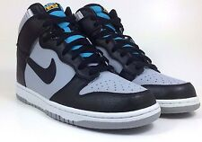 NEW NIKE DUNK HIGH WOLF GREY/BLACK 317982 047 SIZE 10.5