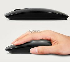 1600 Dpi Slim Bluetooth Wireless Optical Mouse For Windows 7/8 Macbook dz88